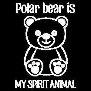 Polar Bear Lieblingstier Geschenk