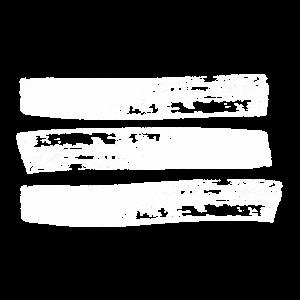Drei Pinsel Streifen