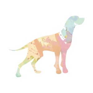 Hunde Silhouette Doppelbelichtung Geschenk