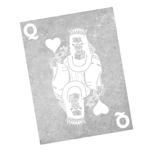 Totenkopf Königin Spielkarte Poker Karte Geschenk