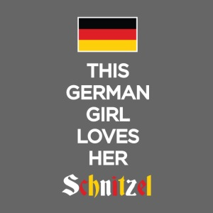 Girl loves her Schnitzel