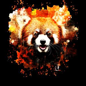 Roter Panda Porträt ws std