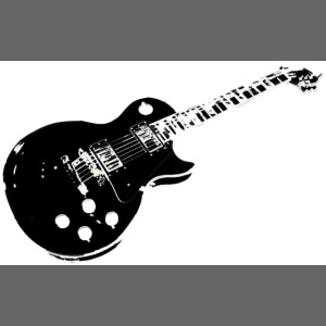 gitarr svart