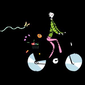 Gute Laune Fahrrad