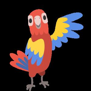Papagei Süß