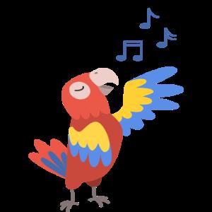 Papagei Singen