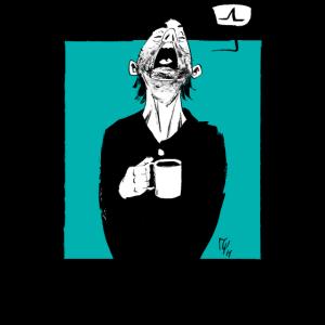 Lustige Kaffee Morgenmuffel Langschläfer Sprüche