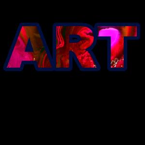 Art Kunst Buntes Geschenk