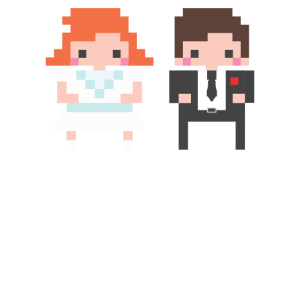 Hochzeit Heirat Gamer Coop Mode T-Shirt