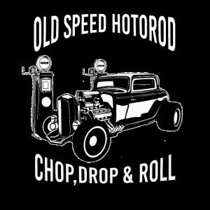 Alte Geschwindigkeit Hotrod