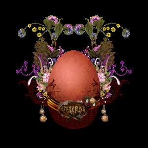 Wunderbarer Osterei-Steampunk