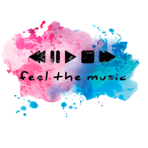 feel the music wasserfarbe
