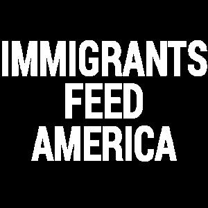 Einwanderer ziehen Amerika Shirt ein