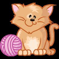 Katze Haustier-Serie