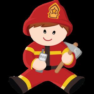 Feuerwehrmann Braun
