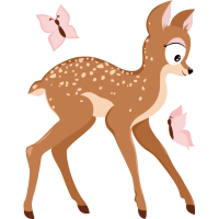 Reh aus Wald-Serie