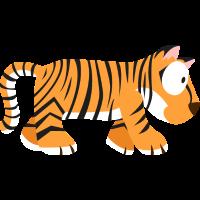 Tiger Welttiere-Serie