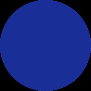 Ein blauer Kreis