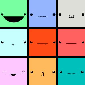 Kawaii Gesichter
