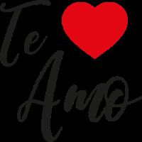 Te amo Herz Liebe