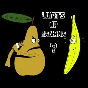 Banane vs Birne What's up Banana?