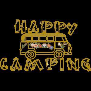 Happy Camping als Geschenkidee
