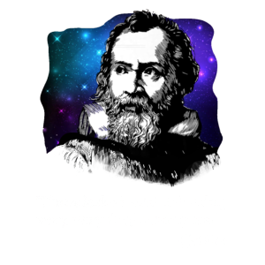 Blitz Blitz Galileo Meme Wissenschaft Astronomie