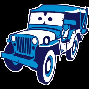 Cars for Kids: Safari-Jeep