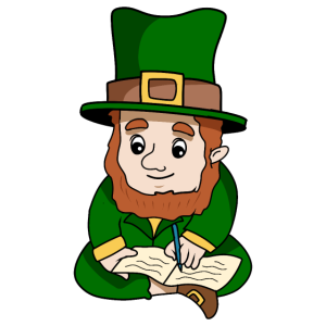 St. Patricks Day Kobold Poesie