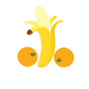 Penis Banane Orange