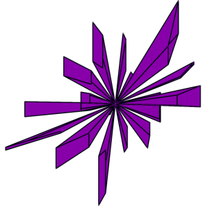 Violetter-Kristall