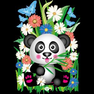 14 Blumen Baby Panda Bambus Marienkäfer Sommer