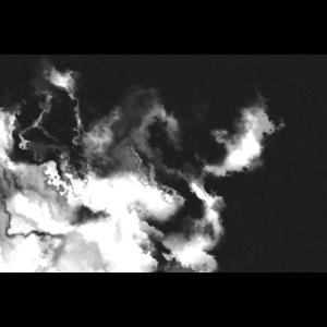 Abstrakte Kunst Wasserfarbe Farbkleckse Schwarz /