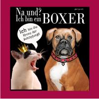 Boxer, Katze: na und, ich bin ein boxer