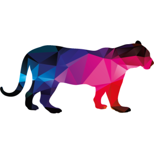 Tiger Low Poly Tiere