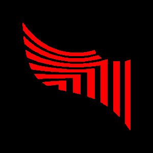 Streifen Muster rot