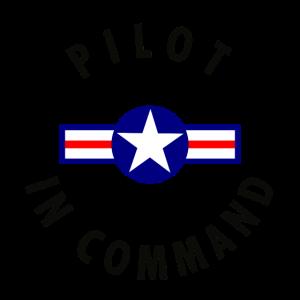 Pilot in Command Shirt als Geschenkidee - 1 S