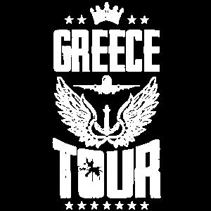 Griechenland Tour krone reise urlaub anker