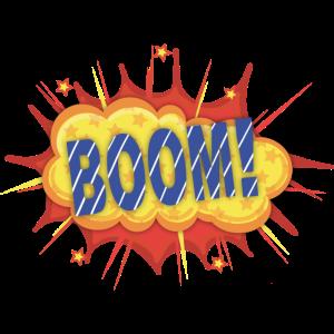 Comic Pop Art Boom!