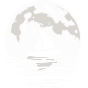 Segelschiff Segeln Segelboot Segel Mond Geschenk