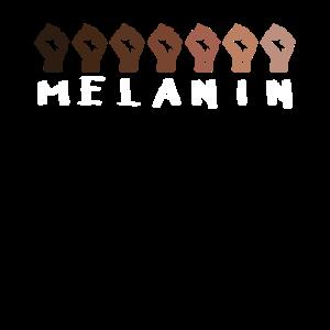 Black Lives Matter Melanin Power Faust Geschenk
