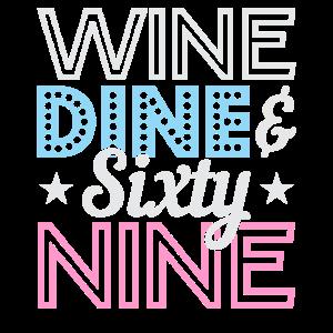 Wine Dine 69 geschenk