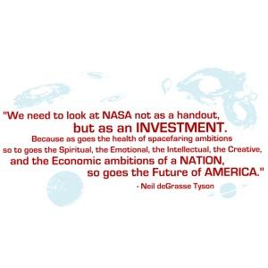 NASA Neil deGrasse Tyson quote