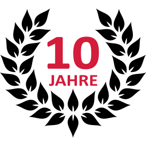 Lorbeerkranz - 10 Jahre