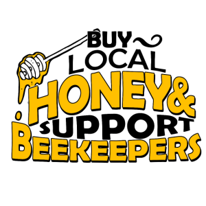Buy local honey & support beekeepers