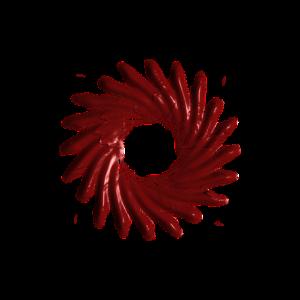 Künstlerische Spirale Design