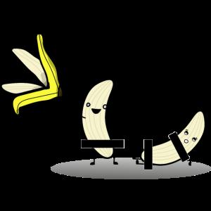 Bananen Strip Dance Striptease