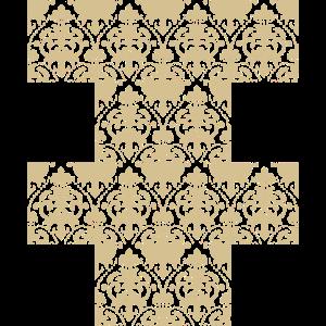 Damast Tapete Muster