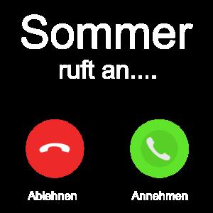 Sommer ruft an