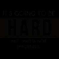 Es wird hart aber nicht aussichtslos